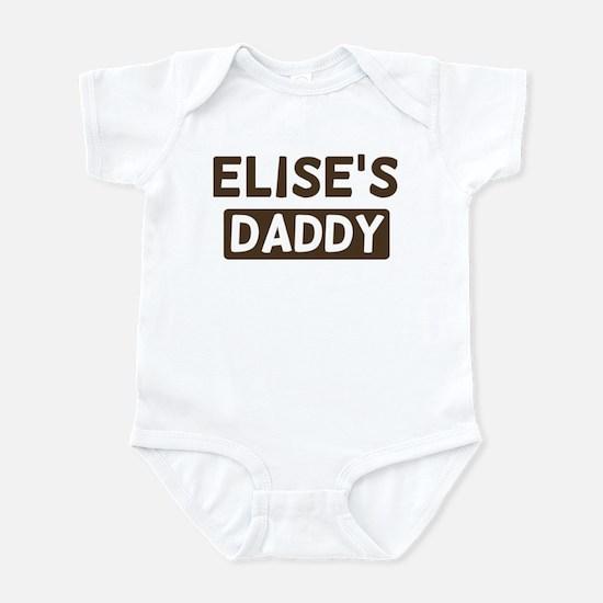 Elises Daddy Infant Bodysuit