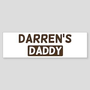 Darrens Daddy Bumper Sticker