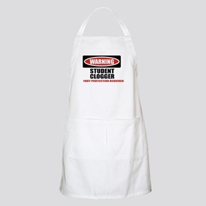WARNING BBQ Apron