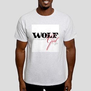 Wolf Girl - join the pack! Light T-Shirt