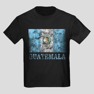 Vintage Guatemala Kids Dark T-Shirt
