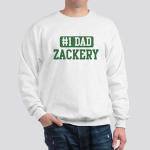 Number 1 Dad - Zackery Sweatshirt