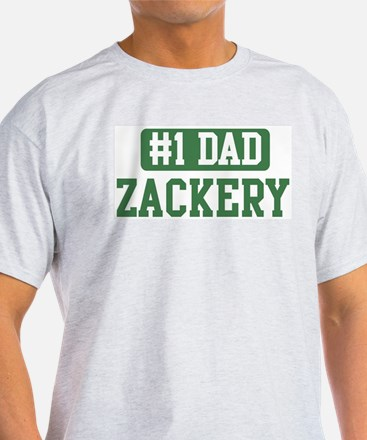 Number 1 Dad - Zackery T-Shirt