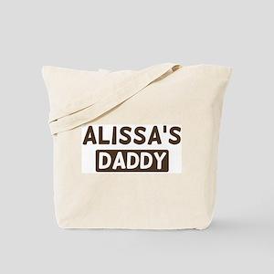 Alissas Daddy Tote Bag