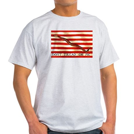 First Navy Jack Ash Grey T-Shirt