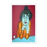 Woman with Absenth Print