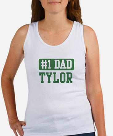 Number 1 Dad - Tylor Women's Tank Top