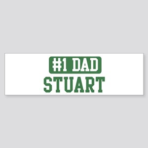 Number 1 Dad - Stuart Bumper Sticker