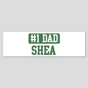 Number 1 Dad - Shea Bumper Sticker