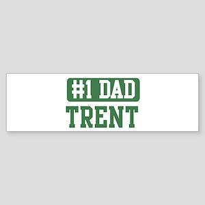 Number 1 Dad - Trent Bumper Sticker
