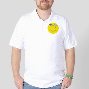 Swimmer Smiley / Eat my Bubbl Golf Shirt