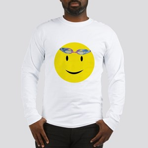 Swimmer Smiley / Eat my Bubbl Long Sleeve T-Shirt