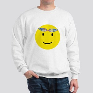 Swimmer Smiley / Eat my Bubbl Sweatshirt