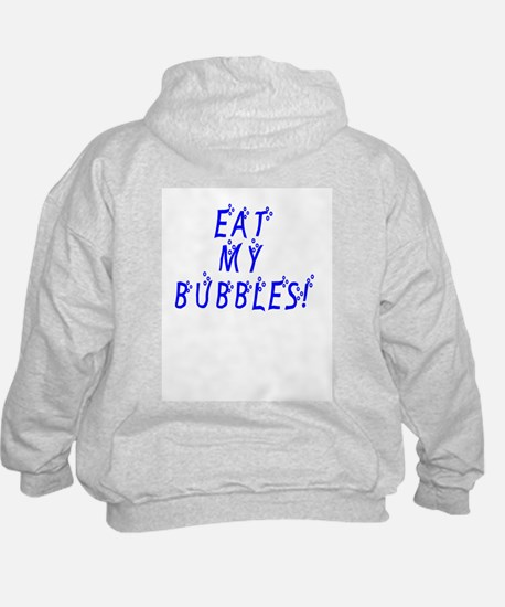 Swimmer Smiley / Eat my Bubbl Hoodie