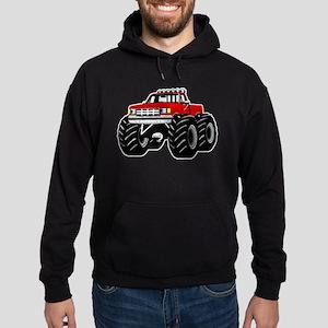 Red MONSTER Truck Hoodie (dark)