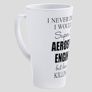 Aerospace Engineer 17 oz Latte Mug