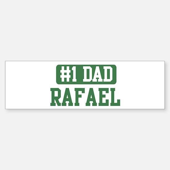 Number 1 Dad - Rafael Bumper Bumper Bumper Sticker