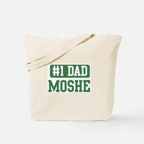 Number 1 Dad - Moshe Tote Bag