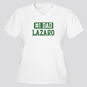 Number 1 Dad - Lazaro Women's Plus Size V-Neck T-S