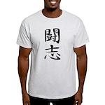 Fighting Spirit 02 - Kanji Symbol Light T-Shirt