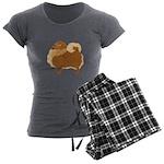 Pomeranian Women's Charcoal Pajamas