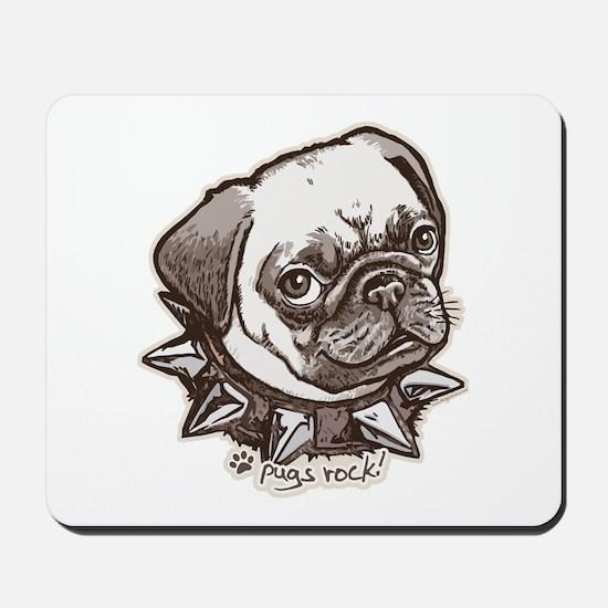 Pugs Rock Mousepad
