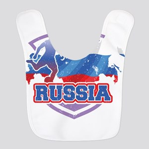 Football Worldcup Russia Russia Polyester Baby Bib