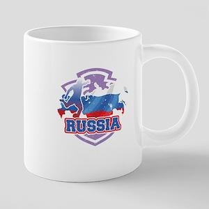 Football Worldcup Russia Russian Soccer Team Mugs