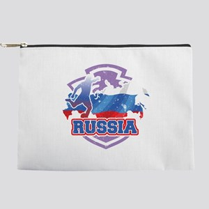 Football Worldcup Russia Russian Soccer Makeup Bag