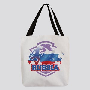 Football Worldcup Russia Russia Polyester Tote Bag