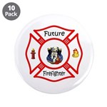 "Future Firefighter 3.5"" Button (10 pack)"