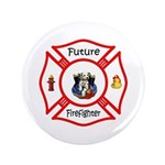"Future Firefighter 3.5"" Button"