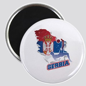 Football Worldcup Serbia Serbian Soccer Te Magnets