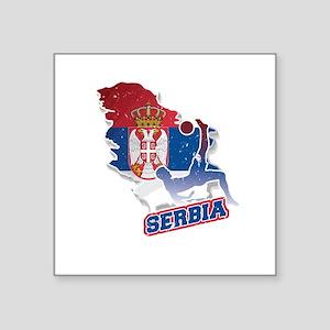 Football Worldcup Serbia Serbian Soccer Te Sticker