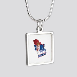 Football Worldcup Serbia Serbian Soccer Necklaces