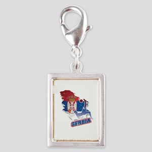 Football Worldcup Serbia Serbian Soccer Tea Charms