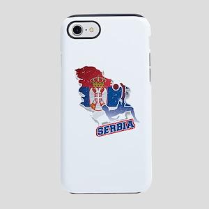 Football Worldcup Serbia Ser iPhone 8/7 Tough Case