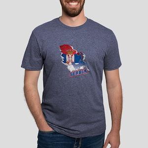 Football Worldcup Serbia Serbian Soccer Te T-Shirt