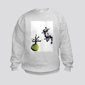 Big Furry Dragon Kids Sweatshirt