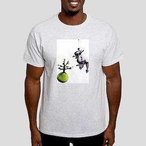 Big Furry Dragon Light T-Shirt