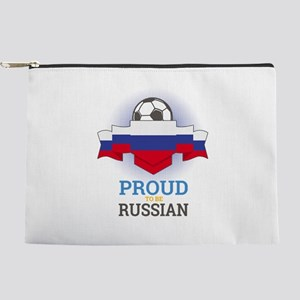 Football Russian Russia Soccer Team Spo Makeup Bag