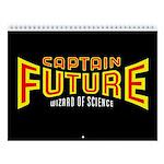 Classic Captain Future 2018 12-Month Wall Calendar