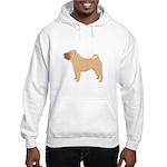 Chinese Shar-Pei Hooded Sweatshirt