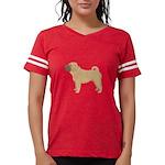 Chinese Shar-Pei Womens Football Shirt