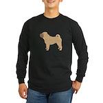 Chinese Shar-Pei Long Sleeve Dark T-Shirt