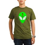 Dead Alien Organic Men's T-Shirt (dark)