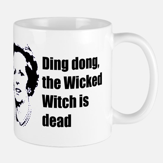 Thatcher - Ding dong the Wick Mug