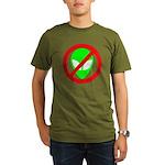 No More Aliens Organic Men's T-Shirt (dark)