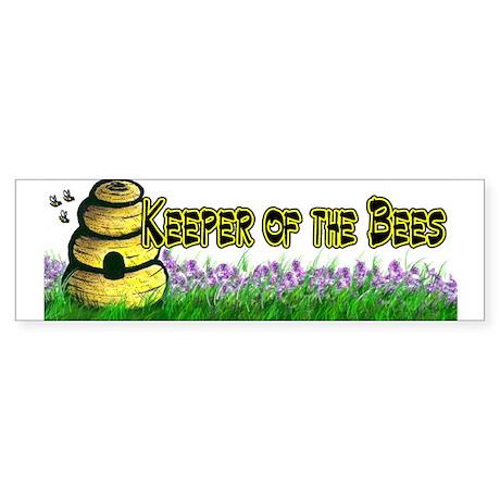 Beekeeping Bumper Sticker