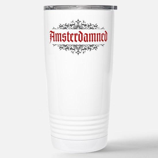 Amsterdamned Stainless Steel Travel Mug